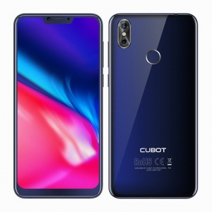 Cubot P20 4GB 64GB Android 8.0 19:9 Notch Screen 6.18'MT6750T Octa-Core 4000mAh 2246*1080 20MP+2.0MP 4G LTE Smartphone