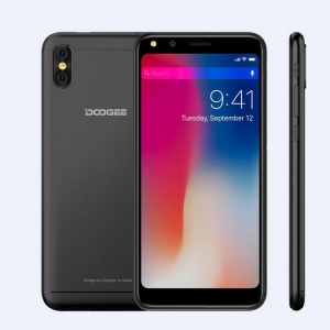 "DOOGEE X53 5.3"" 1GB RAM 16GB ROM 18:9 Android 7.0 MTK6580M Quad Core 5MP Dual Rear Cameras 3G WCDMA Smartphone"