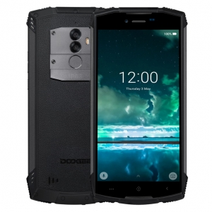 "Doogee S55 Android 8.0 Android 8.0 Battery 4GB RAM 64GB ROM 13.0 MP+8.0MP Dual Rear Camera 5.5"" 720*1440 Fingerprint ID 4G LTE Smartphone"