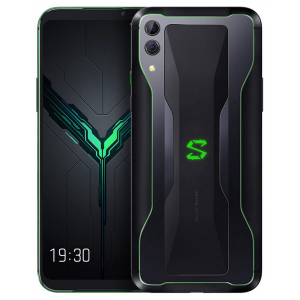 Global Version Xiaomi Black Shark 2 6.39 Inch 4G LTE 12GB RAM 256GB ROM Gaming Smartphone Snapdragon 855 48.0MP+12.0MP Dual Rear Cameras Android 8.1 In-display Fingerprint Quick Charging