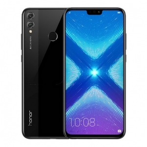 HUAWEI Honor 8X 6.5 Inch FHD+ Full Screen Kirin 710 6GB RAM 64GB ROM Dual 20MP Rear Cameras Android 8.1 OS Touch ID 4G LTE Smartphone