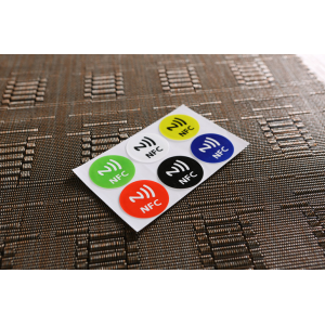 Lot 6pcs Smart NFC Tag for Xiaomi3 S4 Meizu MX3 888 Smartphone with NFC Function