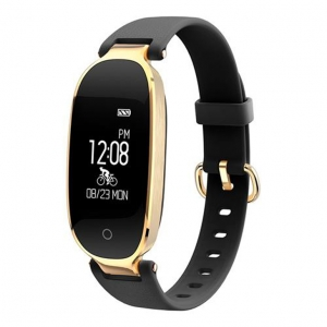 Makibes S3 Smart Bracelet Bluetooth 4.0 Heart Rate Monitor Multi-sport Tracker IP67 Water Resistance Compatible with Android iOS