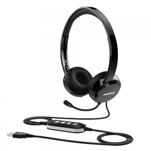 mpow bluetooth stereo headphones wired headphones with mic. Black Bedroom Furniture Sets. Home Design Ideas