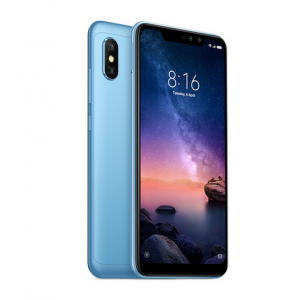 Stock in Spain Warehouse***Global Version Xiaomi Redmi Note 6 Pro 4GB RAM 64GB ROM 6.26 Inch FHD+ Screen Snapdragon 636 12.0MP + 5.0MP Dual Rear Cameras MIUI 9 Face ID 4G LTE Smartphone***Free Shipping