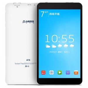 Teclast A78T-K8GB Tablet PC with 0.3MP Camera Android 4.4 OS RK3126 Quad Core 7 Inch 1024*600pixels  Capacity Screen 512MB RAM 4GB ROM