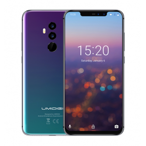 "UMIDIGI Z2 Special Edition 4GB RAM 64GB ROM 6.2"" 2246*1080 FHD+Full Screen Helio P23 Big Aperture Camera Android 8.1 4G LTE Smartphone"