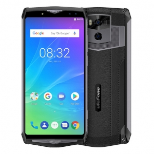 "Ulefone Power 5S 4GB RAM 64GB ROM 13000mAh Android 8.1 6.0"" FHD MTK6763 Octa Core 21MP Face ID Wireless Charge 4G LTE Smartphone"