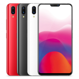 Vivo X21 6GB 64GB 6.28 Inch 2280 x 1080 pixels Qualcomm Snapdragon SDM660 AIE Octa Core Face Wake recognition Back fingerprint ID 12.0MP+5.0MP Dual Camera 4G LTE Smartphone