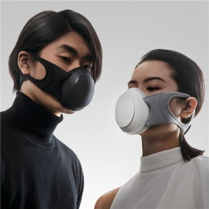 Xiaomi Mijia Honeywell Breathing Mask With Electric Mute Fan KN95 Low-resistance Filter
