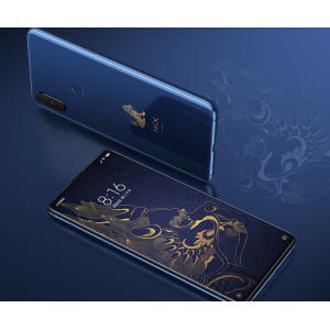 Xiaomi Mix 3 Forbidden City Special Edition 10GB 256GB 6.39 inch AMOLED FHD+ 2340×1080 Four AI Cameras Qualcomm Snapdragon 845 Fingerprint ID 4G LTE Smartphone