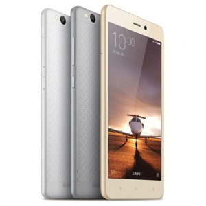 Xiaomi Redmi 3/Hongmi 3 Smartphone 16GB 2GB 4G LTE 64 Bit Qualcomm Snapdragon 616 Octa Core 5.0 Inch Screen Dual Sim Card 4100mAh Battery Quick Charge