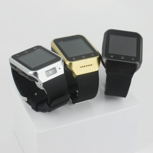 ZGPAX-S8 Bluetooth Watch Phone Android 4.4 OS 5.0MP Camera 3G Wi-Fi GPS MTK6572 Dual Core RAM 512M ROM 4GB