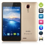 Bluboo X4 Smartphone Android 4.4 OS WCDMA 4G LTE MTK6582 Quad Core 4.5 Inch 854*480 Screen Dual Camera Bluetooth 1GB 4GB