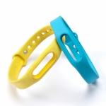 Colorful werable Silicone Wrist Strap for Xiaomi Bracelet/ Miband