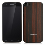 DOOGEE F3 Pro Smartphone with Wood /Bamboo Shell 5.0 Inch FHD MTK6753 Octa Core Android 5.1 OS 3GB RAM 16GB ROM