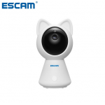 Escam QF509 ONVIFIndoor Mini Network Camera HD 1080P Wireless Pan/Tilt Monitor Wifi IP IR Camera Support Motion Detector