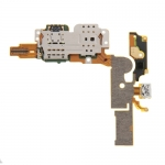 Flex cable and SIM card reader contact replacement for vivo X5 Pro.