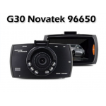 "G30 Novatek 96650 Car DVR Camera Recorder Camcorder with 2.7"" Full HD 1080P G-sensor Night Vision 170 Wide Angle SOS Motion Detection"