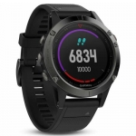 Garmin Fenix 5 Multisport GPS Smartwatch Dual Navigation Networks with Granite Blue Band