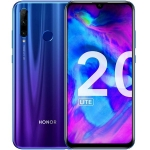 Global Version HUAWEI Honor 20 Lite 6.21 inch Android 9.0 Kirin 710 4GB RAM 128GB ROM  24.0MP + 8.0MP + 2.0MP Rear Camera