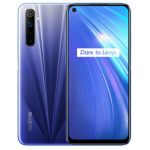 Global Version Realme 6 6.5 inch FHD+ 90Hz Refresh Rate NFC Android 10 4300mA 64MP AI Quad Camera 4GB 64GB Helio G90T 4G Smartphone