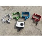 Gopro HD Hero Serier Standard Protective Go pro Frame + Base for xiaomi Yi Action Camera