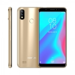 "HOMTOM C8 Mobile Phone 5.5""18:9 Full Display Android 8.1 MT6739 Quad Core 2GB+16GB Smartphone Face Unlock Fingerprint ID 4G FDD"