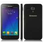 Lenovo A606 Smartphone 4G LTE Android 4.4 MTK6582 Quad Core 5.0 Inch 854×480pixels IPS Screen 0.3MP 5.0MP Camera Bluetooth GPS 512MB 4GB