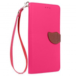 Love Leaf Card Lanyard Pu Leather for Xiaomi Max 2