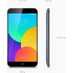 Meizu MX4 MTK6595 Octa Core Smartphone 5.36 Inch 1920 x 1152 pixels Capacitive Screen Back Camera 20.7MP 2GB RAM