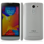 Mijue G3 Smartphone Android 4.4 MTK6572 Cortex A7 Dual Core 5.0 Inch 854 x 480 pixels TFT Capacitive Screen Dual Cameras 512MB 4GB