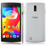 Mijue G6 Smartphone Android 4.4 OS MTK6572W Dual Core 5.5 Inch 960 x 540 pixels QHD Screen Smart Wake 3G Bluetooth GPS 512MB 4GB