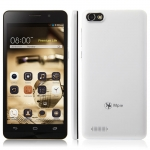 Mpie Z6 3G Smartphone with 5.5 Inch 540 x 960 pixels IPS  Screen Cortex A7 MTK6572W Dual Core Smartphone  2.0MP 5.0MP Dual Camera 512MB 4GB