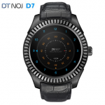 NO.1 D7 Smart Watch 1.3 inch Android 4.4 SIM Smartwatches GPS WIFI 3G Bluetooth Smart Wristwatch 1G 8G Pulse Monitor Dual Core