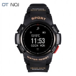 NO.1 F6 IP68 Smartwatch Nordic NRF51822 Bluetooth Waterproof Pedometer Heart Rate Detection