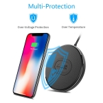 NILLKIN 10W Fast Qi Wireless Charger for iPhone X/8 Charging for Samsung S9 /S8/Note8/MIX 2S USB Phone Charger Pad