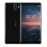 Nokia 8 Sirocco Fingerprint Sensor 5MP Front Camera 12 MP+13MP Dual Camera 5.5 Inch 2560×1440 3260mAh Battery 6GB 128GB 4G LTE Smartphone