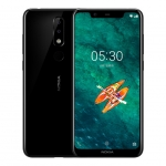 "Nokia X5 4G RAM 64G ROM 3060mAh Dual Sim Android Fingerprint 5.86"" 19.9 HD+ Screen 5MP+13MP Dual Back Camera Octa Core 4G LTE Smartphone"