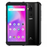 OFFICIAL AGM X3 5.99'' 4G Smartphone 8G+128G SDM845 Android 8.1 IP68 Waterproof Mobile Phone Dual BOX Speaker tuned by JBL NFC
