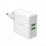 ORICO USB Quick Charger QC2.0 Dual Ports Wall Charger 36W Mobile Phone Charger for Apple Samsung Xiaomi Huawei Portable