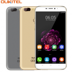 "OUKITEL U20 Plus 4G Mobile Phone RAM 2GB ROM 16GB MTK6737T Quad-Core 5.5"" Android 6.0 Dual Lens Back Camera Smartphone"