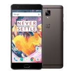 OnePlus 3T 5.5-inch full HD screen 1920x1080 pixels  2.35GHz Qualcomm Snapdragon 821 quad-core Front fingerprint scanner supported Android Smartphone