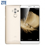 "Original ZTE Axon 7 Max 4GB+64GB Cell Phone Hi-Fi Fingerprint Dual Rear Snapdragon 625 Android Octa Core 6.0"" 3D Display+Bionic"