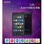 PIPO Talk T8 Phone Call Tablet Android 4.4 OS MTK6592 Octa Core 6.44 Inch 1920x1080 pixels  IPS FHD Touch Capacity Screen GPS Bluetooth 2.0 MP 13.0MP Camera 2GB RAM