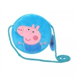 Peppa Pig George Pig Plush Round Bag Wallet