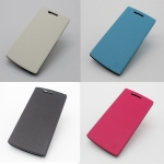 Protective Case Flip Cover Case for OnePlus One Smartphone