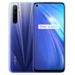 Realme 6 6.5 inch FHD+ 90Hz Ultra Smooth Display 120Hz Touch-Sensing Android 10 4300mAh 30W Flash Charge 64MP AI Quad Rear Cameras 3-Card Slot 4GB RAM 64GB ROM Helio G90T Octa Core 4G Smartphone