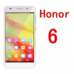Screen Protector Clear Skin Protector Guard for Huawei Honor 6 Smartphone