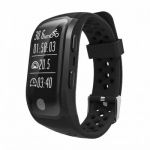 Smartband S908 GPS IP68 Waterproof Touch Key Smart Bracelet heart rate monitor Bluetooth 4.2 fitness tracker For Android IOS
